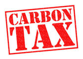 CARBON TAX — Stock Photo