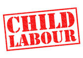 CHILD LABOUR — Stock Photo