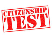 CITIZENSHIP TEST — Stock Photo