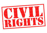 CIVIL RIGHTS — Stock Photo