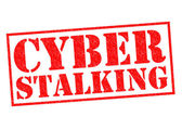 CYBER STALKING — Stock Photo