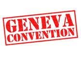 GENEVA CONVENTION — Stock Photo
