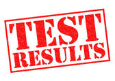 TEST RESULTS — Stock Photo