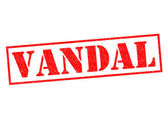 VANDAL — Stock Photo