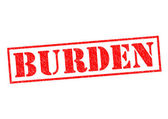 BURDEN — Stock Photo