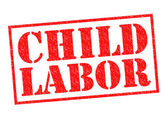 CHILD LABOR — Stock Photo