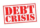 DEBT CRISIS — Stock Photo