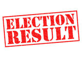 ELECTION RESULT — Stock Photo