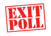 EXIT POLL — Stock Photo