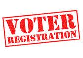 VOTER REGISTRATION — Stock Photo