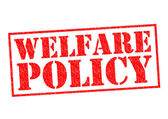 WELFARE POLICY — Stockfoto