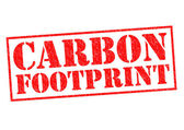 CARBON FOOTPRINT — Stock Photo