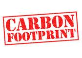 CARBON FOOTPRINT — Stock Photo