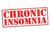 CHRONIC INSOMNIA — Stock Photo