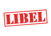 LIBEL — Stock Photo