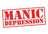 MANIC DEPRESSION — Stock Photo