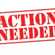 ACTION NEEDED — Stock Photo #50539521