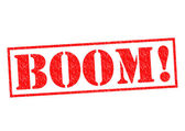 BOOM! — Stock Photo