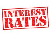 INTEREST RATES — Stock Photo