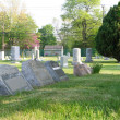 Stock Photo: Small Town Cemetery