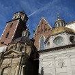 Royals catedral, Wawel in Krakow, Poland — Stock Photo