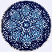 Arruela de cerâmica em cima da mesa — Foto Stock