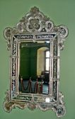 Antique mirror — Stock Photo