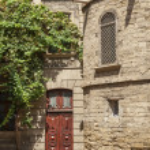 Architecture in baku azerbaijan — Stock Photo