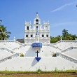 church of mary immaculate conception in panaji goa india — Stock Photo