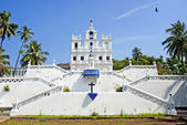 Church of Mary Immaculate Conception in panaji goa india — Stockfoto