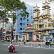 Stock Photo: Cao dai temple in ho chi minh city vietnam