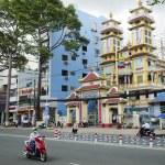Cao dai temple in ho chi minh city vietnam — Stock Photo #16833421