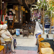 Famous el fishawy cafe in cairo souk egypt — Stock Photo #16834623