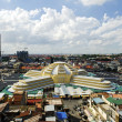 Stock Photo: Psar thmei central market in phnom penh cambodia