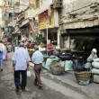 Street scene in cairo old town egypt - Photo