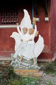 Komunistické socialistické socha v phnompenhu — Stock fotografie