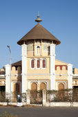 Enda Mariam cathedral in asmara eritrea — Stock Photo