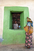 Tienda en etiopía harar — Foto de Stock