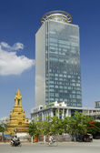 Modern office building phnom penh cambodia — Stock Photo