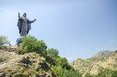 Cristo rei statue near dili east timor, timor leste — Stock Photo