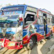 Stock Photo: Bus in dili east timor