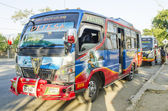 Bus in dili east timor — Stock Photo