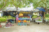 Market in dili east timor — Stock Photo