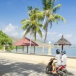 Stock Photo: Areibrancbeach near dili east timor
