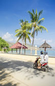 Areia branca beach near dili east timor — Stock Photo