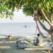 Stock Photo: Fishermon beach dili east timor