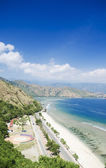 Cristo rei beach in east timor — Stock Photo