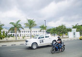 Government house in central dili east timor — Stock Photo