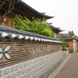 Stock Photo: Bukchon hanok village in seoul south korea