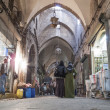 Bazaar in aleppo syria - Stock Photo